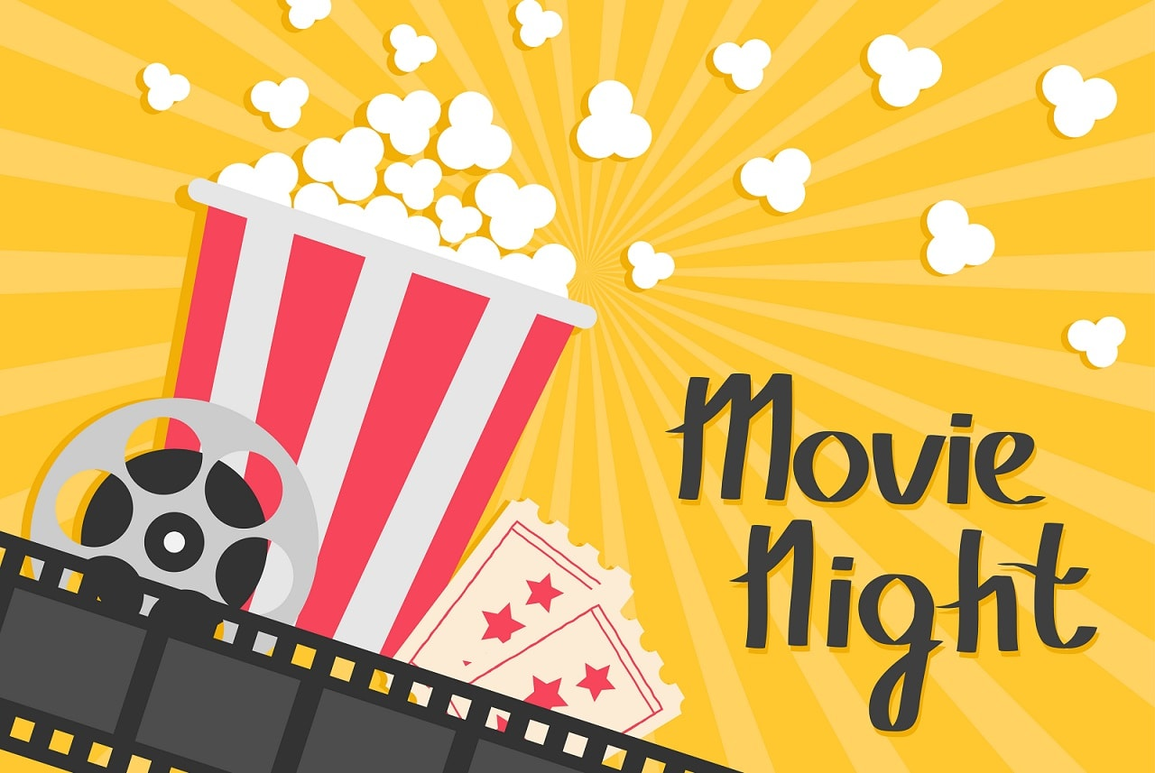 Club Event - Movie Night - EventBookings