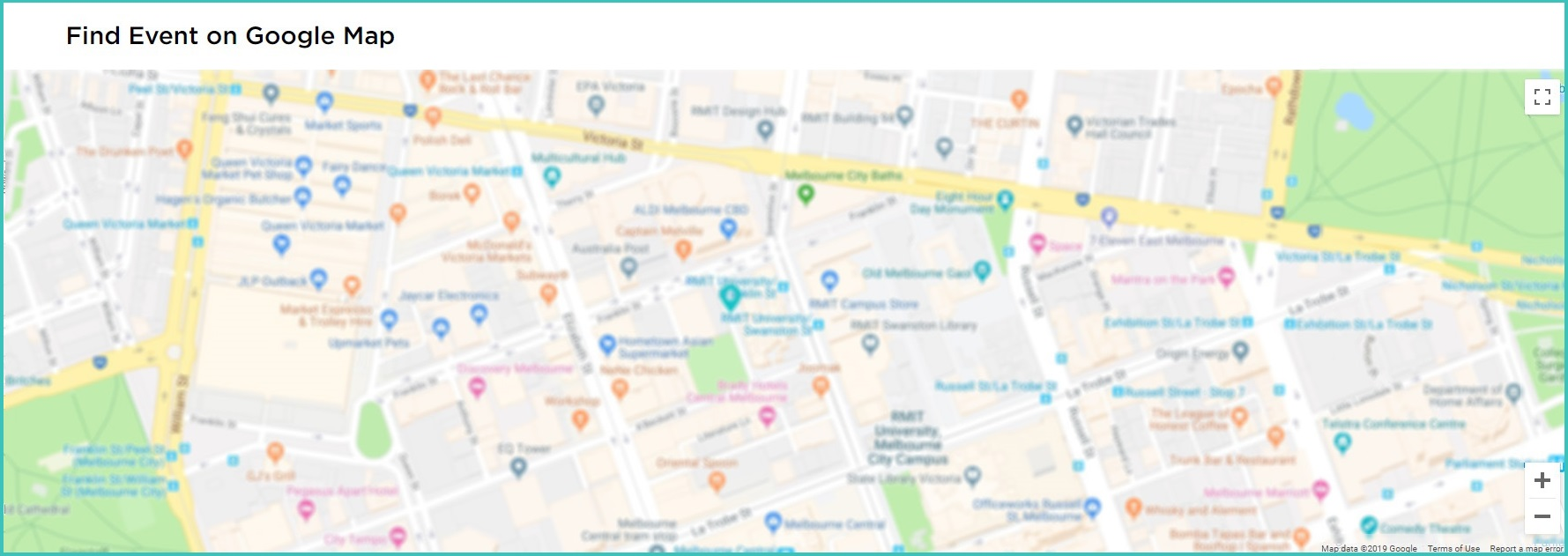 EventBookings - Find Your Event on Google Map