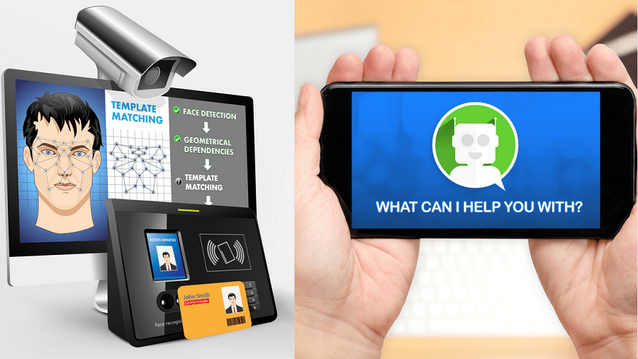 Face recognition and chatbot for event ticketing
