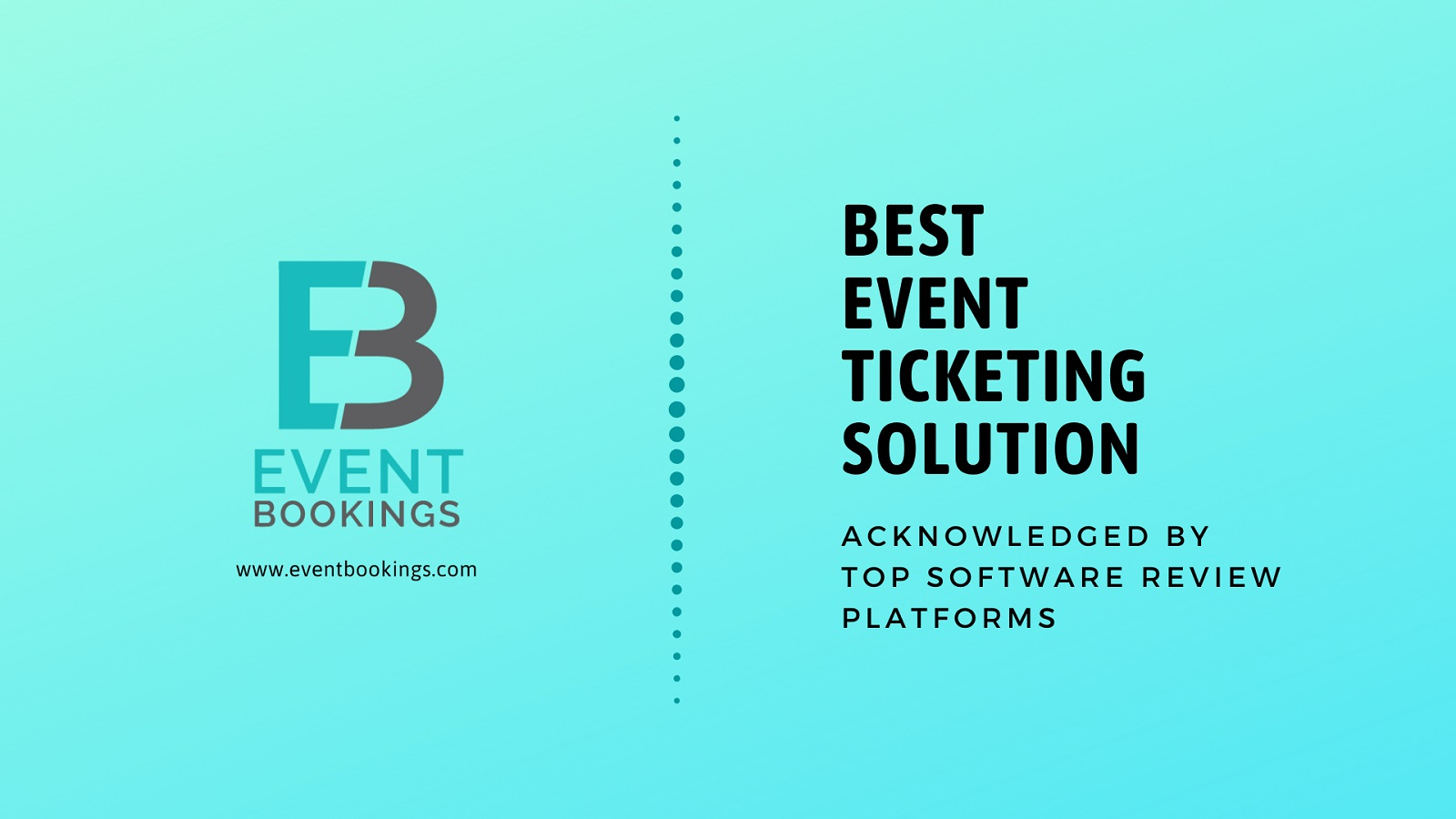 EventBookings acknowledged as best event ticketing solution