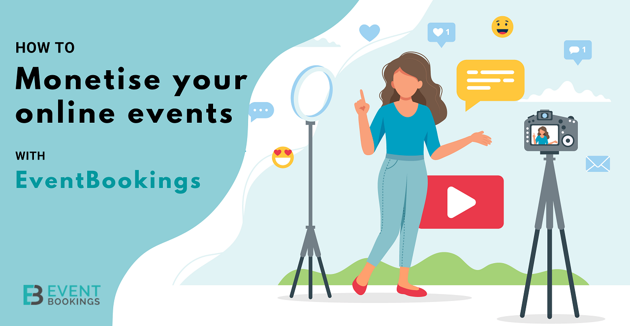 Monetise your online events